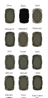 Pixel Art Tools- Knee pads Camo