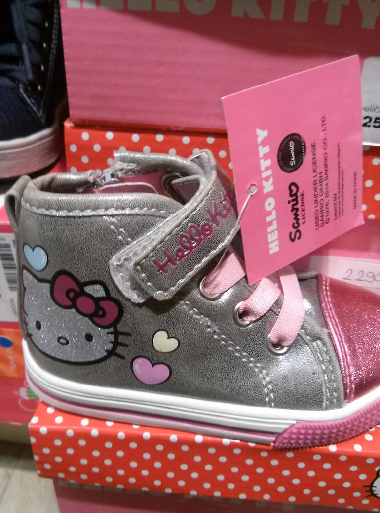 Emma's new sneakers by Milosh--Andrich