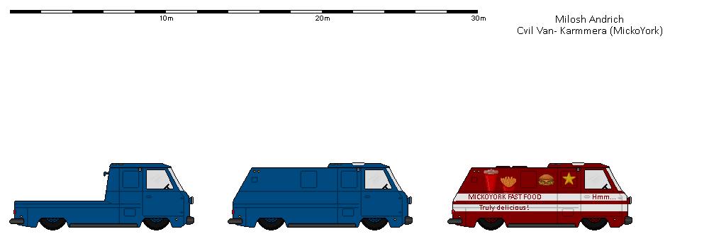 Civil karmmera Van by Milosh--Andrich