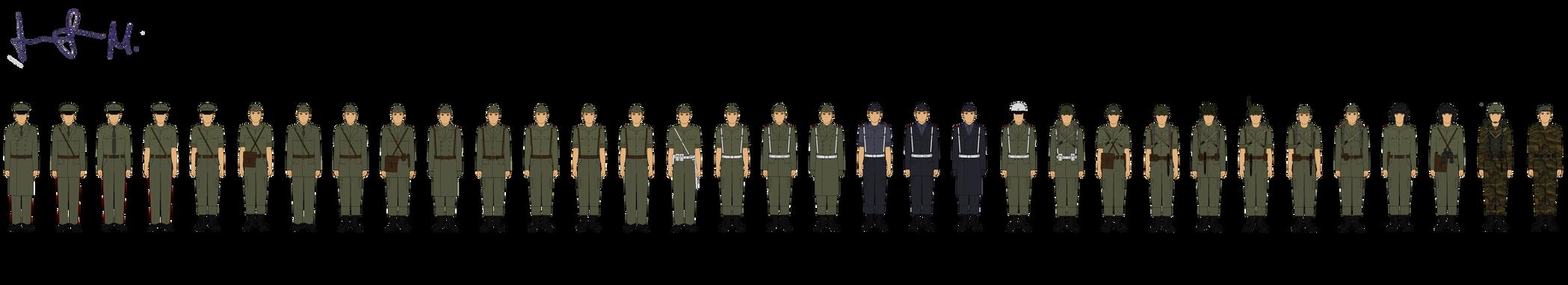 Yugoslavian National Army by Milosh--Andrich