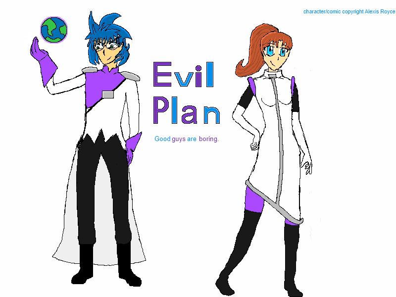 My Evil Plan Fanart by CarcinoNerdist