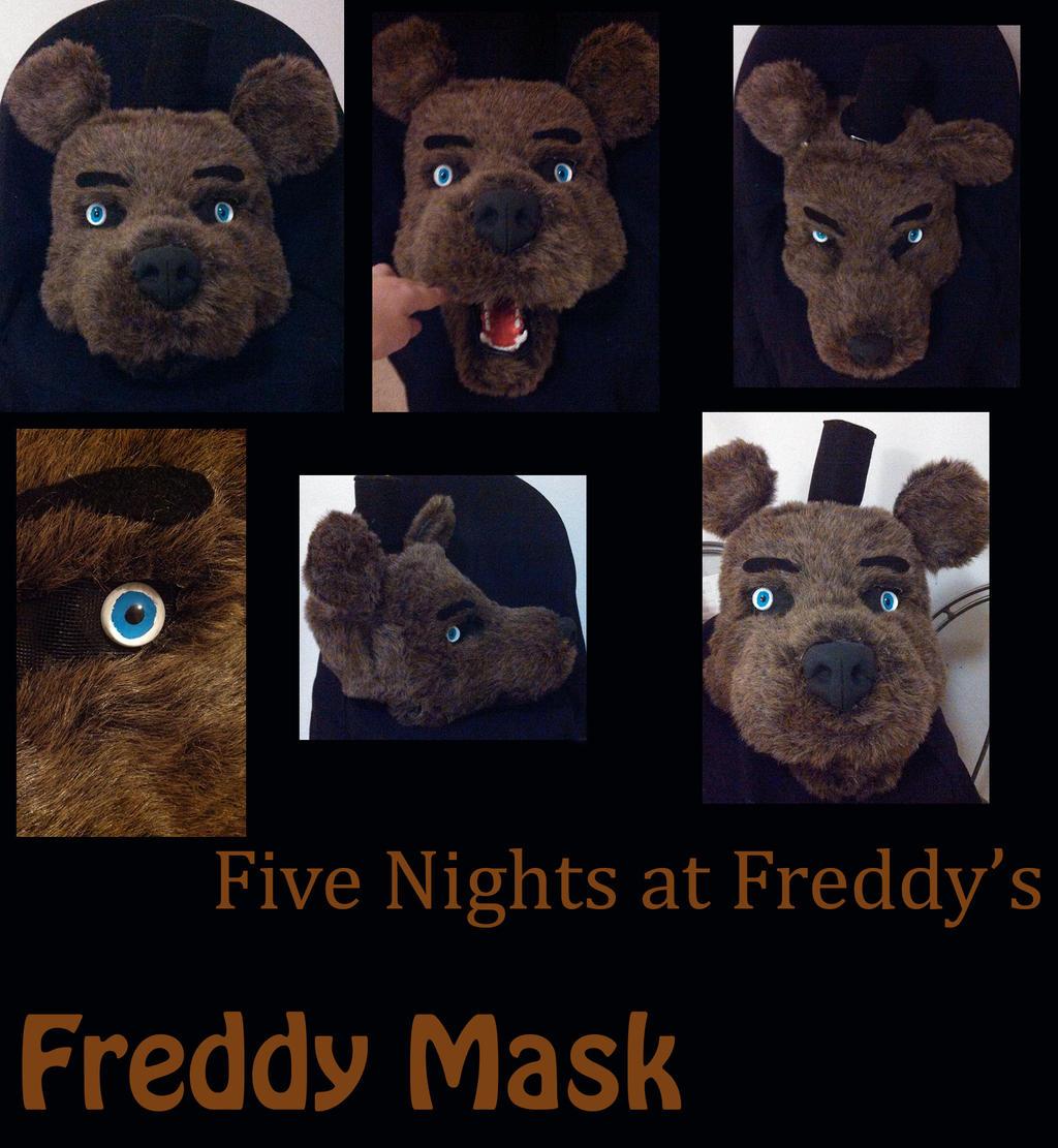 Fnaf freddy head for sale -  Five Nights At Freddy S Freddy Fazbear Mask By Yukisama23