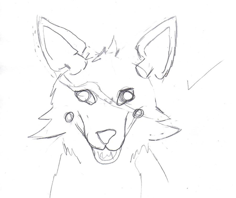 fursuit coloring pages - foxy head fursuit base sketch by yukisama23 on deviantart