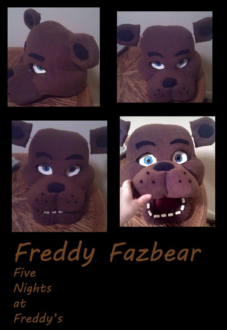 Fnaf freddy head for sale - Freddy Head By Yukisama23