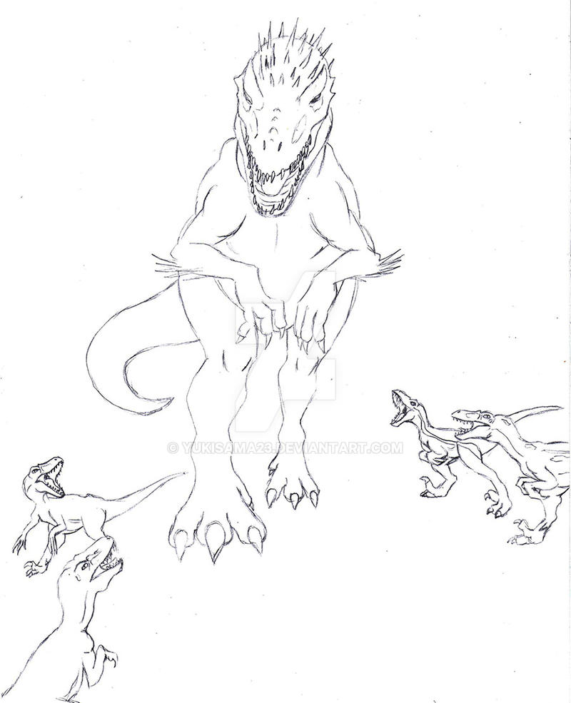 indominus rex jurassic world coloring pages - photo #21