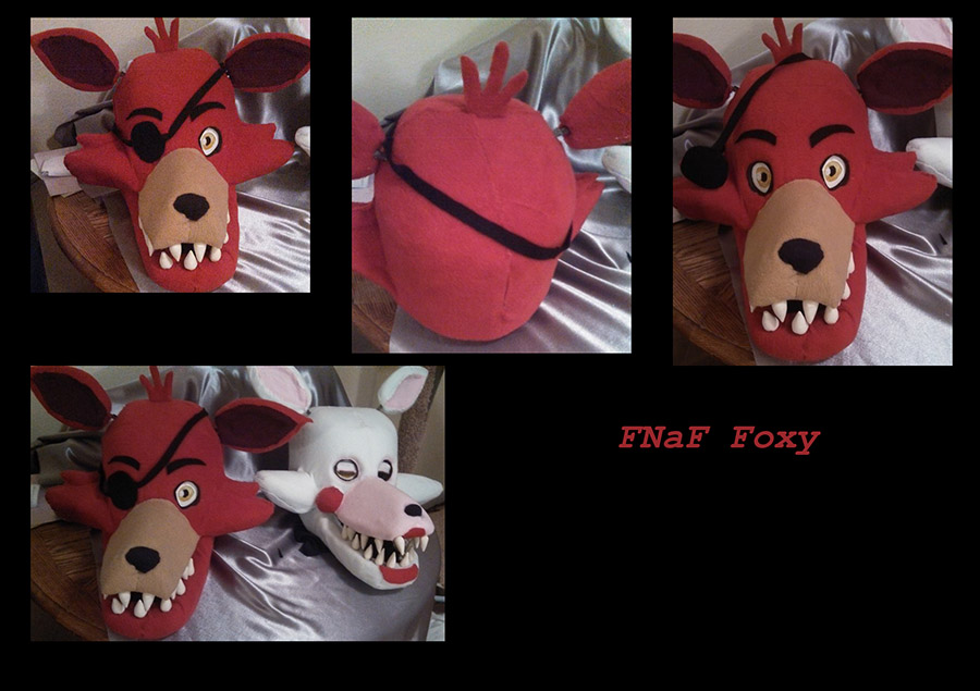 Foxy Head: Complete By Yukisama23 On DeviantArt