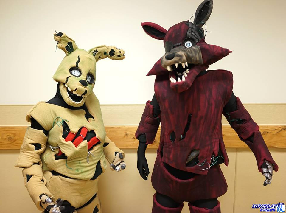 SpringTrap and Phantom Foxy 04