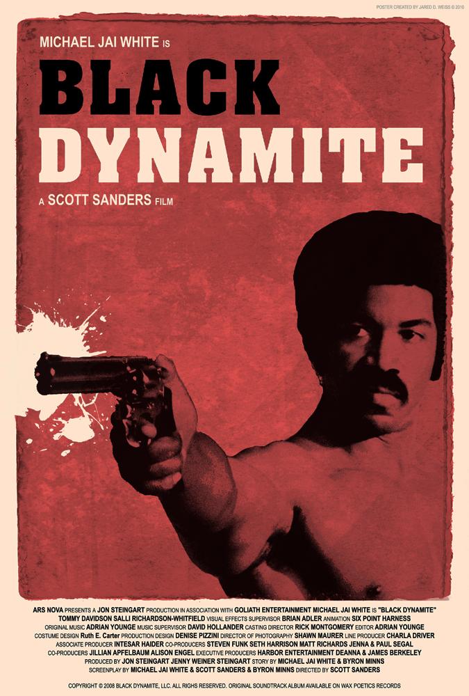 Black Dynamite Poster by JDWRudy25