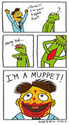 Walter Becomes A Muppet by JDWRudy25