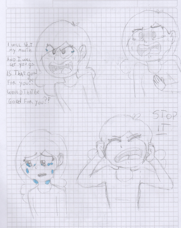 Expressions by Violetathedog