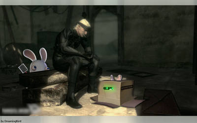 Metal Gear Rabbid?? by DreamingBird