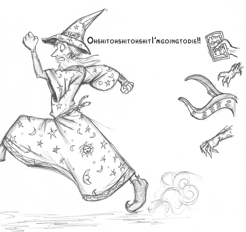 discworld coloring pages | Discworld - Rincewind by holepunch on DeviantArt