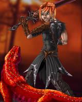 Anima Warrior by AlkseeyaKC