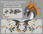 OC: Dimensional Dragon by AlkseeyaKC