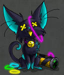 Felisneon with Glowsicks