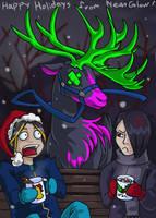Happy Holidays from Neon Glow by AlkseeyaKC