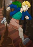 Cecil Run! by AlkseeyaKC
