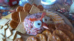 Turkey Angry Bird Cheese Ball