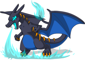 PokeNeons: Charizard by AlkseeyaKC