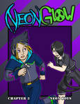Neon Glow Chapter 3 Cover: Neon Boys by AlkseeyaKC
