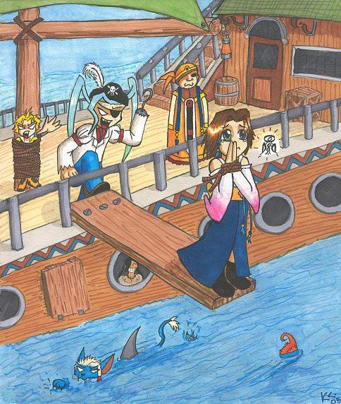 FFX: Walk the Plank by AlkseeyaKC