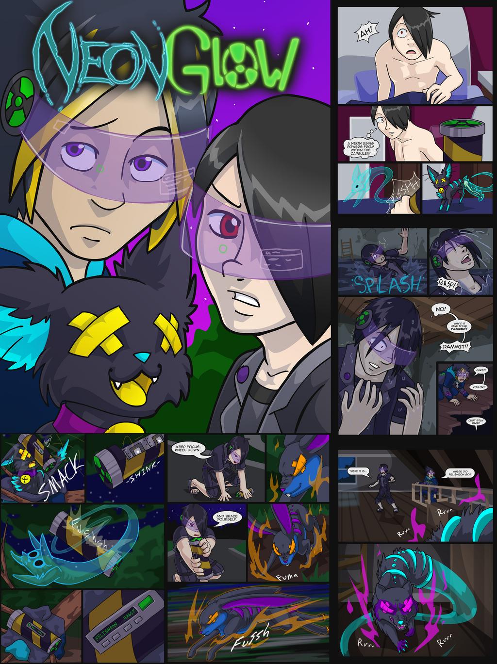 Neon Glow Download by AlkseeyaKC