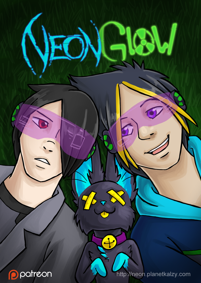 Neon Glow Series Cover by AlkseeyaKC
