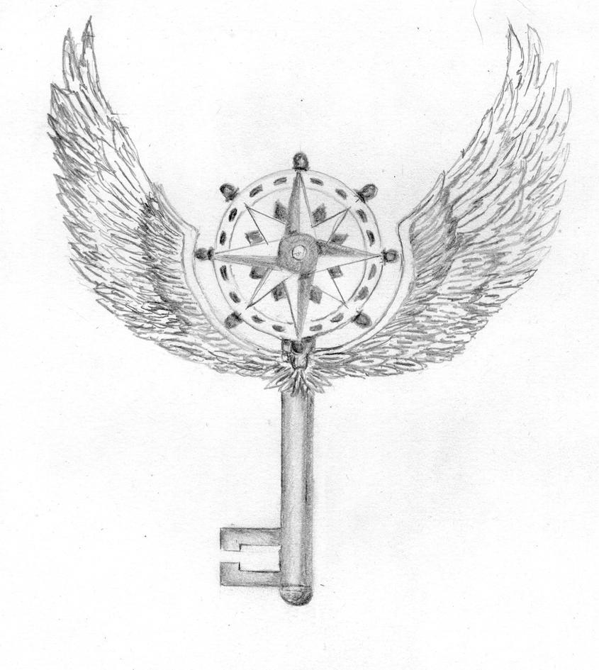 Key Art Design : Key tattoo design by shayca on deviantart