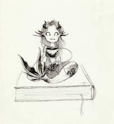Book Mermaid Sprite