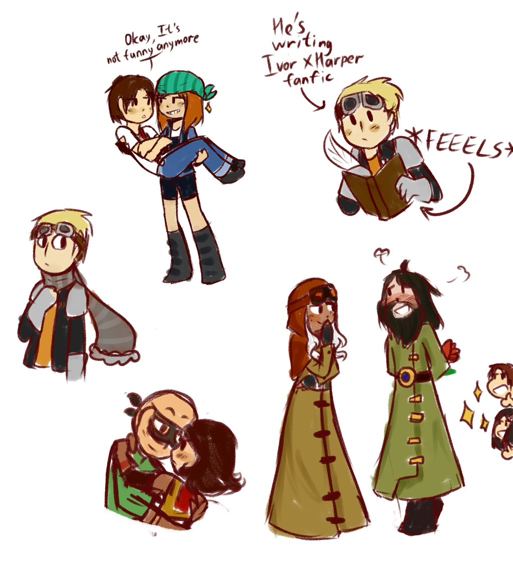 MORE MCSM DOODLES By LazyCrocodile On DeviantArt
