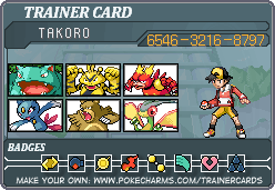 Trainer Card RUBY by TakoroMisashi