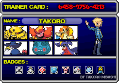 Trainer Card PLATIN by TakoroMisashi