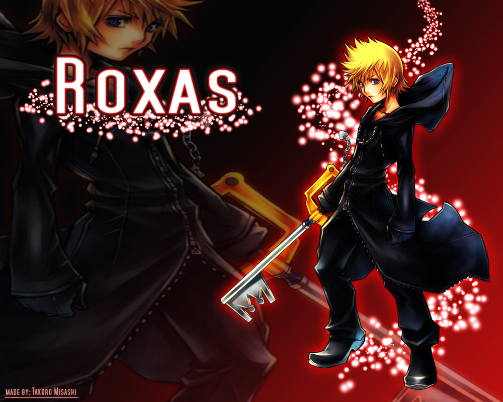 Kingdom Hearts Roxas Wallpaper By TakoroMisashi On DeviantArt