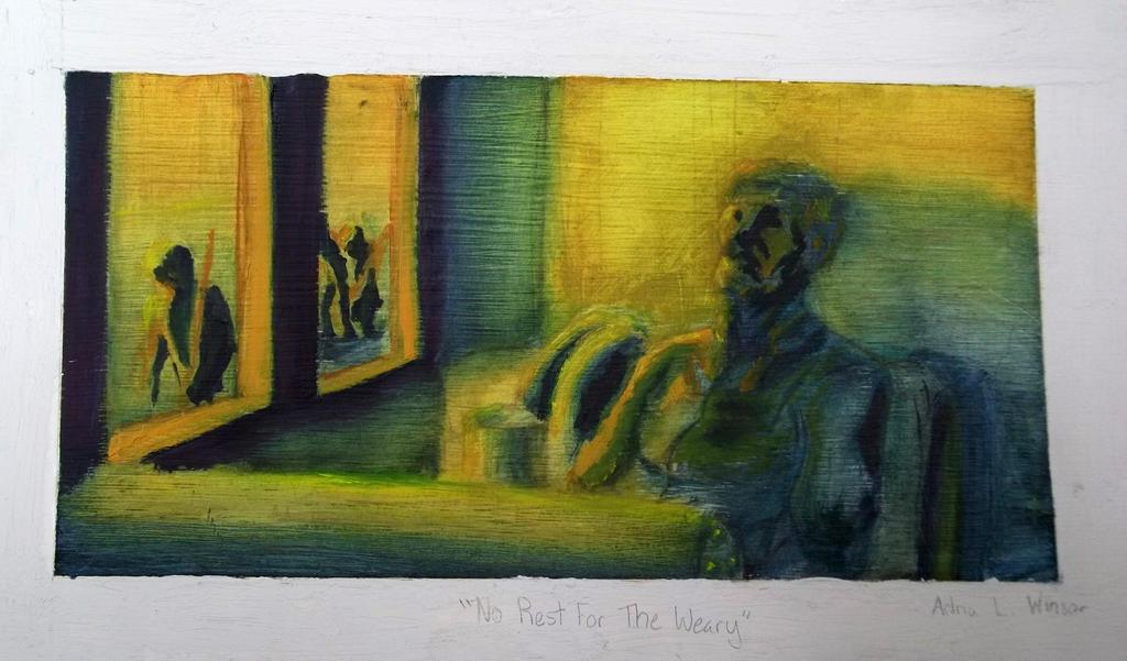 No Rest For The Weary Mug: No Rest For The Weary By Crazyshiro On DeviantArt