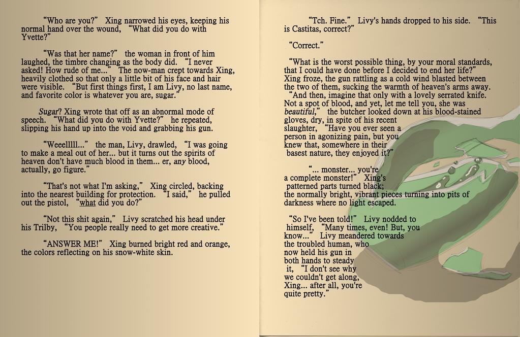 AAOCT: Little Lion Man [Twelve] by crazyshiro