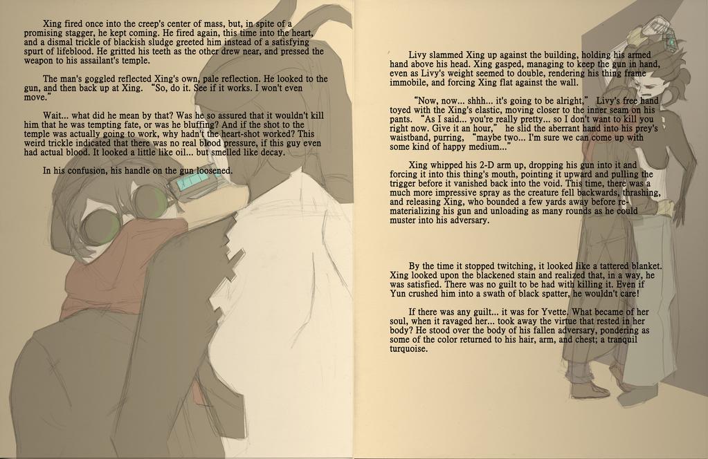 AAOCT: Little Lion Man [Thirteen] by crazyshiro