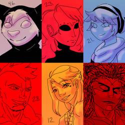 Otherside Hopefuls: Batch Seven by crazyshiro