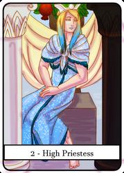 Tarot 2 - High Priestess