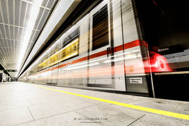 Subway Station Krieau - Vienna by ah-fotografie-me