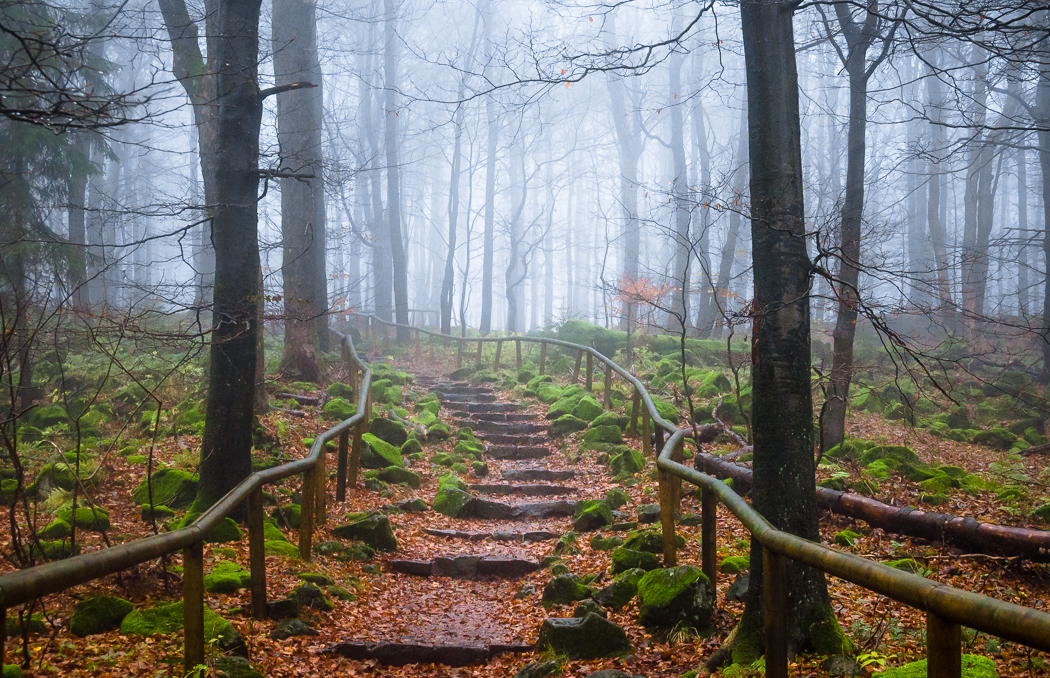 Stairway to nowhere by erynlasgalenphotoart