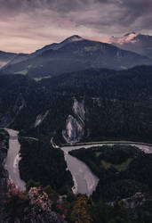 The Bend of Rhine River