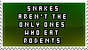 To ANGRY rodent lovers by RoliStamps