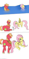 MLP Request- Big Mac and Fluttershy