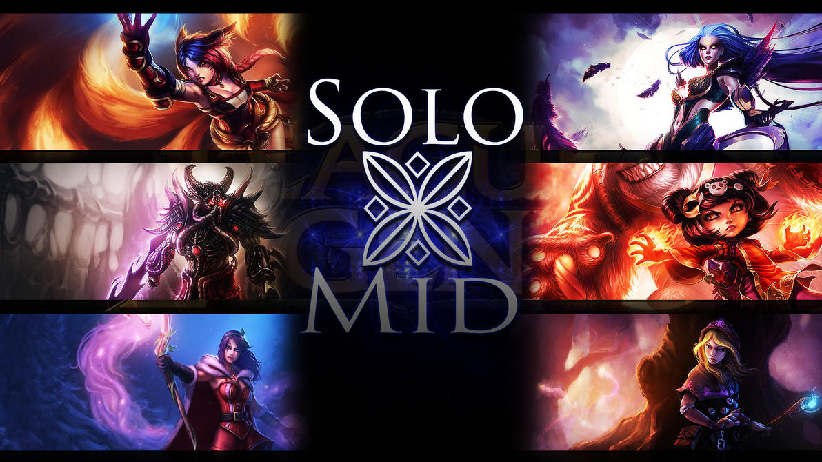 Solo Mid Wallpaper by  I Am Mid League Of Legends
