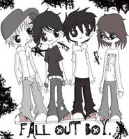 fall out boy. by itscalledfashion