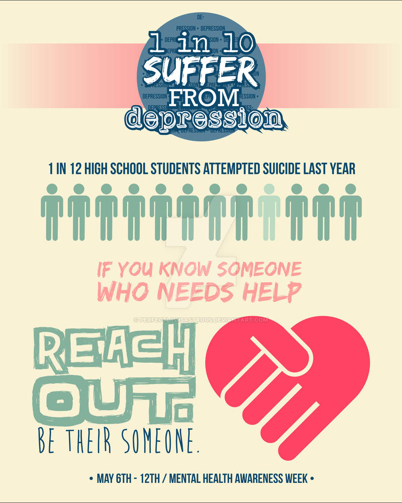 Mental Health Awareness Poster By PerfectlyDisastrous