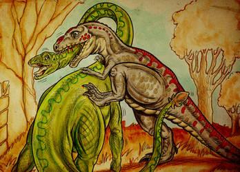 Big Dino Fight