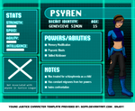 Young Justice: Psyren Bio