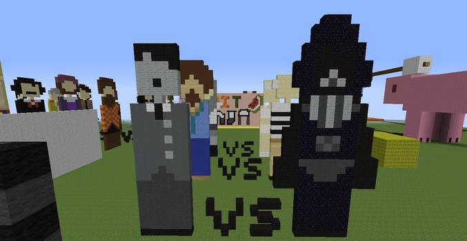 In Game Pixel Art On Minecraft Deviantart