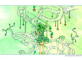 Tree of Stars by zeiva
